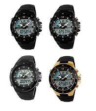 Reloj de Pulsera SKMEI Militar S-Shock LED Digital Deportivo con Alarma Impermeable 5ATM