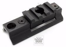 Rifle Sling Swivel Stud to Picatinny Rail Bipod Mount Adapter 3 Slot QD Sling