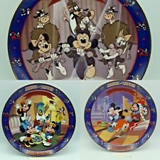 Bradford Exchange Mickey Mouse Collectors Plates Lot Of 3