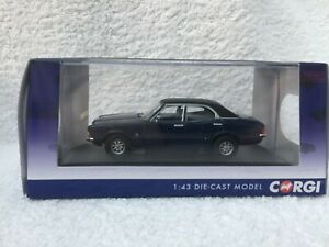 VANGUARD VA10318 - FORD CORTINA MK III 2000GT - MARINE BLUE,  LOW NUMBER
