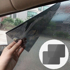 2 x Car Sun Shade Cover Rear Window Side Block Static Cling Visor Shield Screen