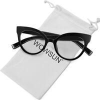 Vintage Cat Eye Glasses Frames Optical Clear Lens Glasses Women Computer Glasses