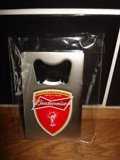 Budweiser Bottle Openers Fifa World Cup  Brushed Steel x10 Brand New