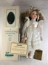 Vintage 1990 Seymour Mann Wedding Bride Lesly Porcelain Doll Limited Edition