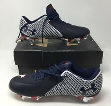 Under Armour UA Team Nitro Low D Football Cleats, 1256834-106 - Size 12.5