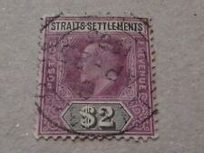 Malayan Strait Settlements  EDVII $2 1905 Fine used. S.G.137