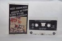 Ozzy Osbourne Just Say Ozzy USA Cassette Tape