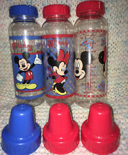 New listing Vintage Evenflo Disney Baby Bottles 8 Oz. ! Mickey Mouse & Minnie Mouse