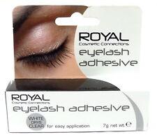 Royal False Eyelash Adhesive 7g White Dries Clear Fake Lash Glue