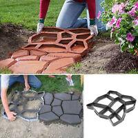 Reusable Mould Garden Paving Pavement Mold Patio Concrete Stone Path Walk Maker