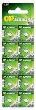 10 x Button Cell Alkaline  Batteries GP 164 364 AG1 LR621 LR620 LR60 L621 L620