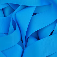 """Grosgrain Ribbon 3 5 or 10 Metre Cut of 3mm - (1/8"""") in 64 Plain Solid Colours"""