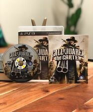 Call Of Juarez The Cartel Sony Playstation 3 PS3 Game Complete CIB Manual