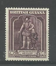 Br Guiana 1938 Sg 316D, 96c Purple, perf 13 X 14, Lightly Mounted Mint. [1552]