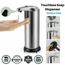 Stainless Steel Automatic Soap Dispenser Touchless Smart Infrared Motion Sensor