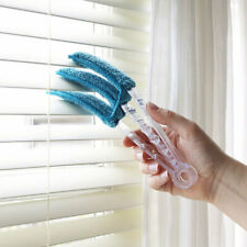 Venetian Blind Cleaner Duster Cleaning Tool Blinds Microfibre Washable Cloth New