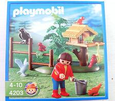 Plamobil Vogelfütterung 4203 Neu & OVP Mädchen Vögel Park Kind