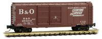 Micro-Trains MTL Z-Scale 40ft Double Door Box Car Baltimore & Ohio/B&O #294212