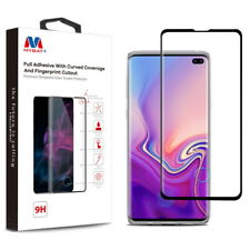 MYBAT Full Adhesive with Curved Coverage and Fingerprint Cutout Premium
