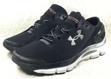 Under Armour Gemini 2 Shoes Mens Black Athletic Running Cross Training Size 8.5