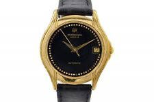 Vintage Raymond Weil 2820 18kt Gold Plated Automatic Midsize Watch 662