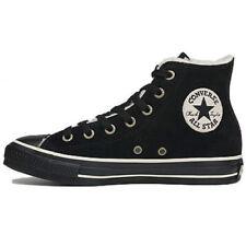Chaussures noirs Converse en cuir pour fille de 2 à 16 ans