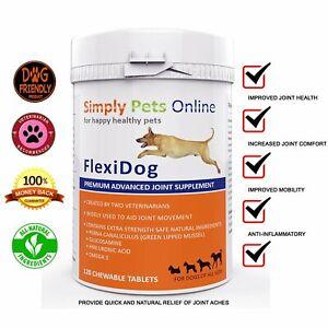 FlexiK9 Premium Advanced Dog Joint Aid Supplement for Stiff & Older Dogs Hip