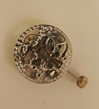 Chinese Mechanical Watch Movement with Silver Plates CH2189S