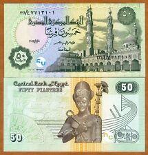 Egypt, 50 Piastres, 2017, P-62, UNC > Ramses II