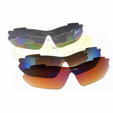 1X Sports Cycling Bike Bicycle Sunglasses UV400 5 Lens Goggles Glasses