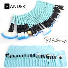 Vander 32pcs Makeup Brushes Cosmetic Set  Eyeshadow Lip Face Makeup Tools Blue
