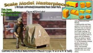 Scale Model Masterpieces/Yorke Canvas Covered Machinery Palleted (1pc) On30