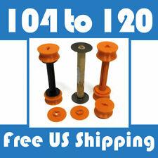 104 to 120 Roll Film Spool Adapter Set/Kit 7pcs No.4 Cartridge Kodak E04 25 12A
