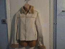 Fur Zip Hip Length Casual Coats & Jackets for Women