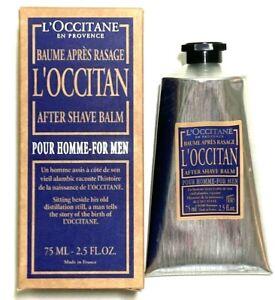 L'Occitane Moisturizing After Shave Balm 2.5 fl oz Mens Face Bath Refreshing New