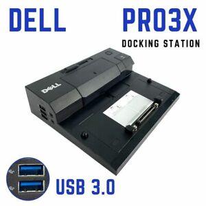Dell Latitude E6330 E6400 E6410 USB 3.0 E-Port Docking Station Port Replicator