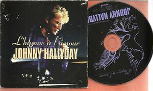 CD  JOHNNY  HALLYDAY  promo?