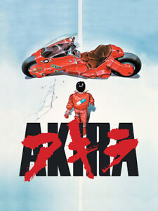 Akira (1988) Movie Poster Matt Size A1 A2 A3 A4 A5
