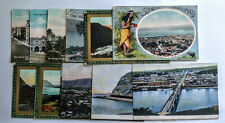 12 Old New Zealand Postcards