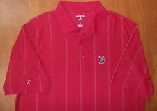 Antigua MLB Boston Red Sox Baseball Desert Dry Performance Golf Polo Shirt L NEW