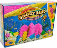 Squeezy Sand Mermaid Kingdom Castle Sculpting Play set Kids Fun