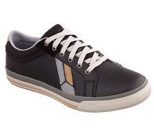 Skechers Black Memory Foam Sneakers Shoes leather Men's sz 9.5 new