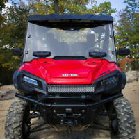 Seizmik Vented Windshield, Hard-Coated Polycarbonate Honda Pioneer 1000 1000-5