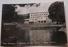CARTOLINA SANTU LUSSURGIU S. LEONARDO DE SIETE FUENTES  - VIAGGIATA 1955 03/17