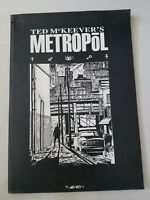 TED McKEEVER'S METROPOL Volume 1 GRAPHIC NOVEL 2000 1ST PRINT SOFTCOVER BOOK