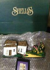 Nib Shelia's collectibles Wizard of Oz shelf sitter- Munchkinland- +trading card