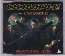 OOMPH!-FEAT.L'Âme Immortelle-BRENNENDE LIEBE 3 TRACK MAXI CD 2004 NEU! & OVP!