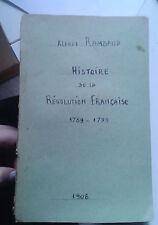 RAMBAUD Alfred. Histoire de la Révolution française. 1789-1799. Hachette. 1908.