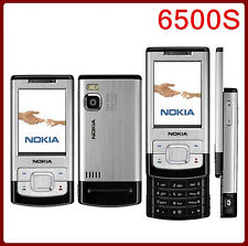 """Nokia 6500s (Unlocked) 2.2""""3MP Bluetooth Long Stand-by Slider Mobilephone"""