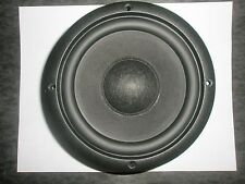 """NEW- KLH AUDIO SYSTEMS 6.5"""" D.V.C Bass/Sub. Driver 4ohm 160w Butyl Rubber surr."""